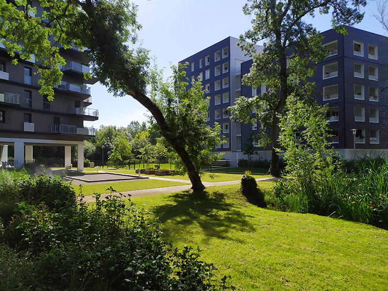 Jardin extérieur Danané Bègles